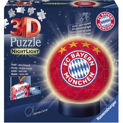 Ravensburger Puzzleball Nachtlicht FC Bayern München bunt Kinder Ab 6-8 Jahren Altersempfehlung Puzzles