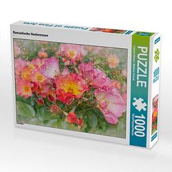 Romantische Heckenrosen Lege-Größe 64 x 48 cm Foto-Puzzle Bild von Carmen Steiner Puzzle