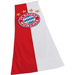 FC Bayern Fahne FC Bayern Bannerfahne, für Fahnenmasten