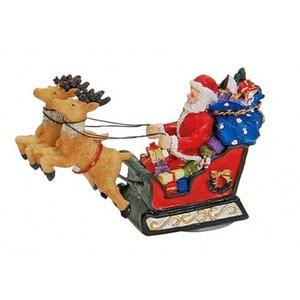 Tipigra Lichthaus G.Wurm Zubehör weihnachtliche Miniatur RENTIERSCHLITTEN 9x5x3 cm