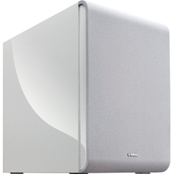 Yamaha MusicCast SUB 100 (NS-NSW100) Subwoofer (LAN (Ethernet), WLAN (WiFi), 130 W) weiß
