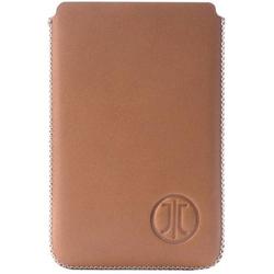 JT Berlin 10198 Premium Etui für Kreditkarten, Geldkarten, Visitenkarten Cognac Leder