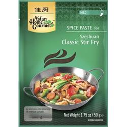 ASIAN HOME GOURMET 3er Pack Würzpaste für klassisches Pfannengericht Szechuan-Art, MILD [3x 50g]