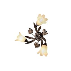 Deckenleuchte Florentiner, Deckenlampe braun