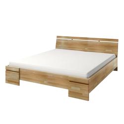 Łóżko Lopar z drewna bukowego