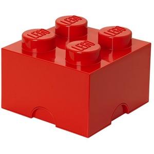 LEGO® Aufbewahrungsbox LEGO Storage Brick 4 rot
