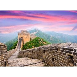 Fototapete Great Wall of China, glatt 2,50 m x 1,86 m