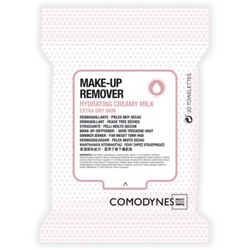 Comodynes Make-up Remover Creamy Milk Abschminktücher für sehr trockene Haut 20 St.