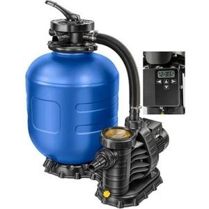 BWT 49627 myPOOL 400 Timer Sandfilteranlage Filterpumpe Salzwasser Poolpumpe Poolfilter 7,5m³/h
