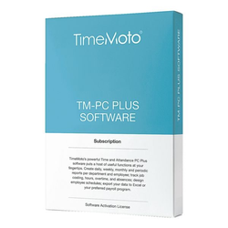 Zeiterfassungssoftware »TM-Plus Software«, TimeMoto
