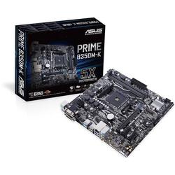 Asus PRIME B350M-K Mainboard Sockel AMD AM4 Formfaktor Micro-ATX Mainboard-Chipsatz AMD® B350