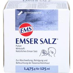 EMSER Salz 1,475 g Pulver 20 St.