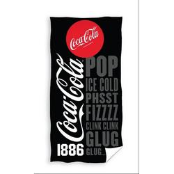 COCA COLA Handtuch Coca Cola - Badetuch, 70x140 cm (1-St), 100% Baumwolle
