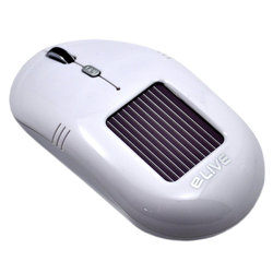 ELIVE Solar Wireless Maus Light 2.4G Solar Wireless Mouse