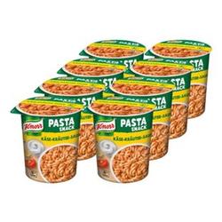 Knorr Snack Becher Pasta in Käse-Kräuter-Sauce 65 g, 8er Pack