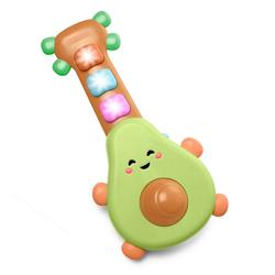 Skip Hop Spielzeug-Musikinstrument Rock-A-Mole Avocado Gitarre