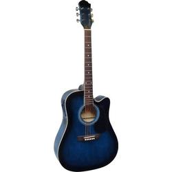 MSA Musikinstrumente CW 196 E-Westerngitarre 4/4 Blau