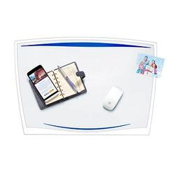 cep Schreibtischunterlage Ice Blue Kunststoff transparent/blau