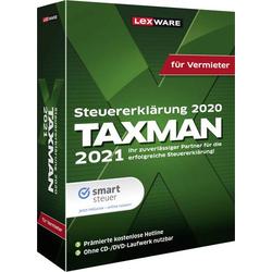 Lexware TAXMAN 2021 für Vermieter - Box-Pack - D Jahreslizenz, 1 Lizenz Windows Steuer-Software
