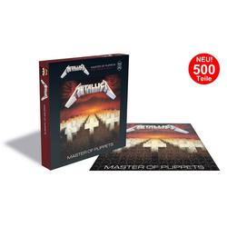 empireposter Puzzle Metallica Master Of Puppets - 500 Teile LP Cover Puzzle im Format 39x39 cm, 500 Puzzleteile