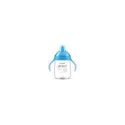 AVENT Sip No Drip Becher 340 ml blau 1 St