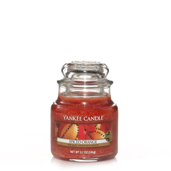 YANKEE CANDLE Kleine Kerze SPICED ORANGE 104 g Duftkerze