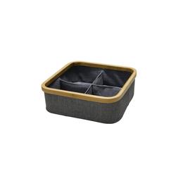 HTI-Line Aufbewahrungsbox Aufbewahrungsbox Paloma Bambus, Stoffbox