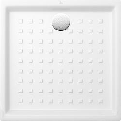 Villeroy & Boch Duschwanne O.NOVO Quadrat, 900 x 900 x 60 mm, extraflach weiß