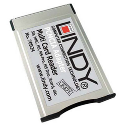 Lindy 70924 PCMCIA Multi Cardreader  für Notebooks