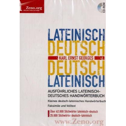 Georges Lateinisch-Deutsch / Deutsch-Lateinisch. Windows Vista; XP; 2000; NT; ME; 98