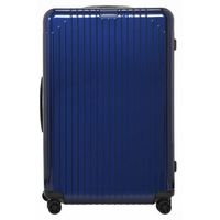 Lite Check-In L 4-Rollen 78 cm / 81 l blue gloss