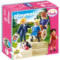 Playmobil Heidi Clara mit Vater und Fräulein Rottenmeier