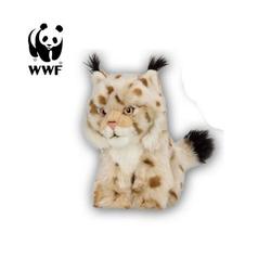 WWF Plüschfigur Plüschtier Luchs (15cm, hellbraun)