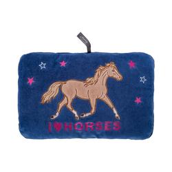 Fashy Wärmflasche Kissen mit Wärmflasche Pferdefreunde