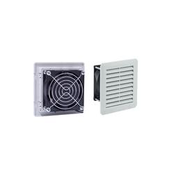 ARLI Gehäuselüfter ARLI Schaltschrank Lüfter 110 x 110 cm - 30m³/h (Filterlüfter einbaufertig mit Filtermatte)