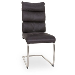 Freischwinger Alice Microfaser grau HELA Chair Alice (BHT 46x105x63 cm) HELA