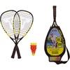 Talbot-Torro Talbot-Torro Speed Badmintonset 4400 Badmintonschläger schwarz-gelb Einheitsgröße
