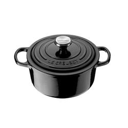 Le Creuset Runder Kochtopf 24 cm Black