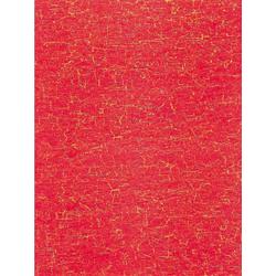 décopatch Motivpapier, 3 Stück, Krakelee Rot