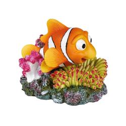 TRIXIE Aquariendeko Clownfisch Aquarium Luftpumpenanschluss