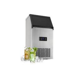 Klarstein Eiswürfelmaschine Glacial XL Profi-Eiswürfelmaschine 38kg/d 15l LED Edelstahl schwarz