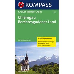 Kompass Karte Nr. 594 Chiemgau Berchesgadener Land
