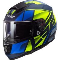 FF397 Vector Kripton Matt-Black/Blue/Yellow