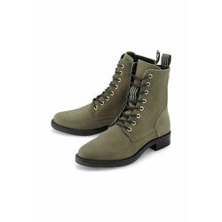 Schnür-Boots Schnür-Boots COX khaki