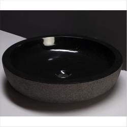 Waschbecken Naturstein VERONA XL (50 cm) Granit, 100073