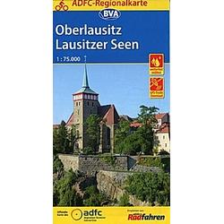 ADFC-Regionalkarte Oberlausitz - Lausitzer Seen - Buch