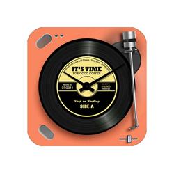 HTI-Line Wanduhr Wanduhr Vinyl