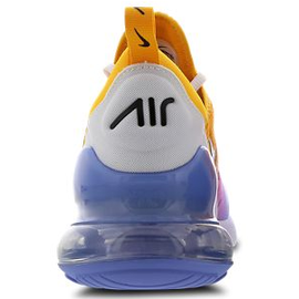 Nike Men's Air Max 270 multicolor white blue black, 43 ab