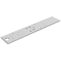 GEZE Türschließer Montageplatte, 226 x 60 mm