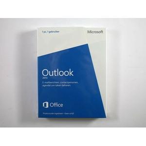 Outlook 2013 Vollversion, niederländisch (+deutsch) - neu, SKU: 543-05750